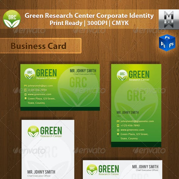 Green Research Center Corporate Identity