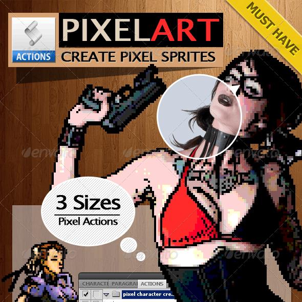 Pixel Art Generator