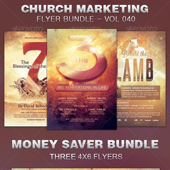 Church Marketing Flyer Bundle Vol 040