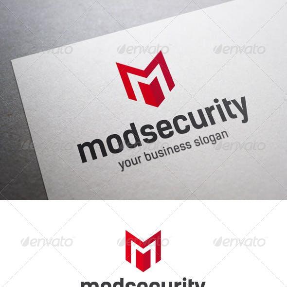 Mod Security M Letter Logo