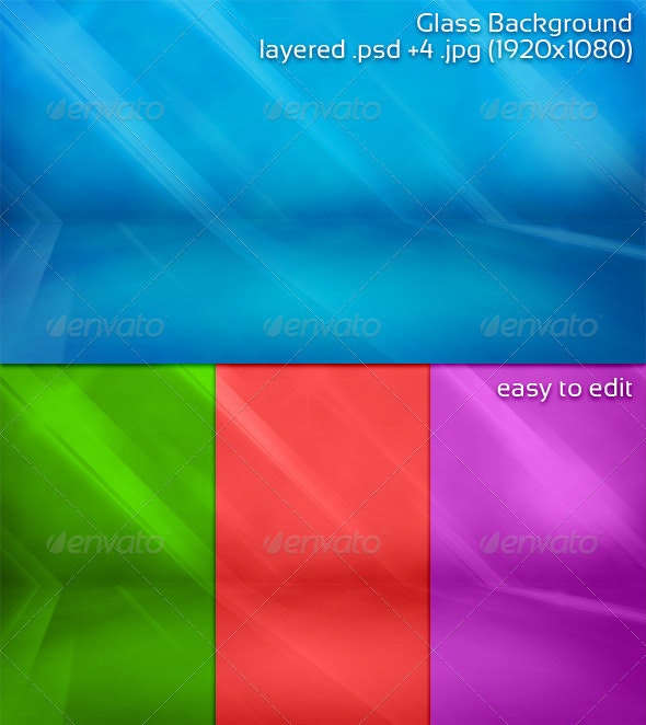 Glass background - Backgrounds Graphics