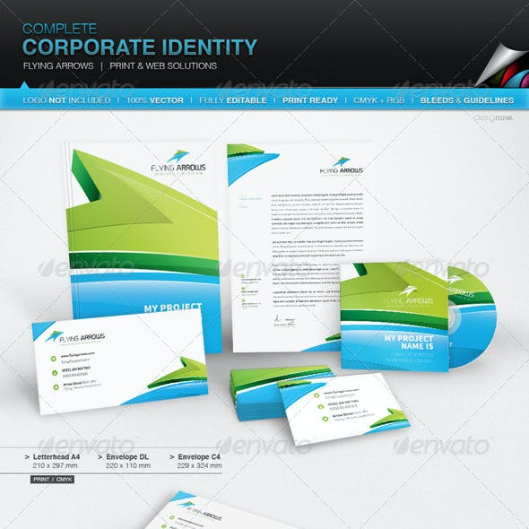 Corporate Identity - Flying Arrows
