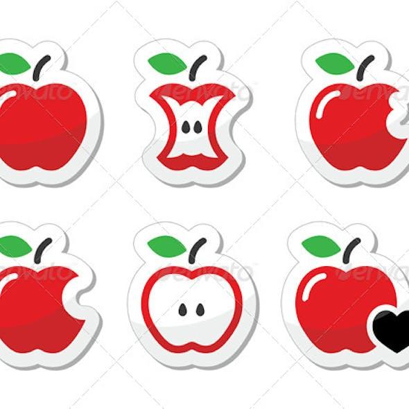 Apple Variation Labels Set