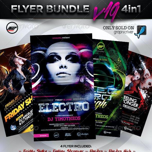 Flyer Bundle Vol19 - 4 in 1