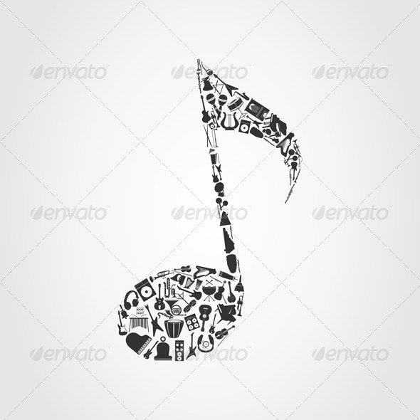 Musical note - Miscellaneous Vectors