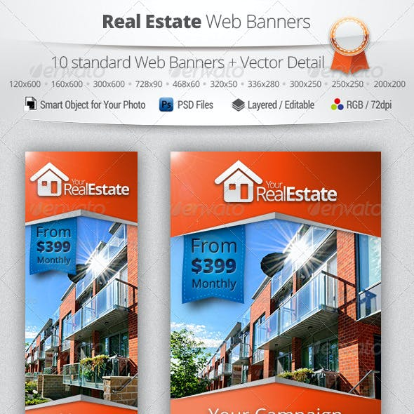 Real Estate Campaign Web Banners 2