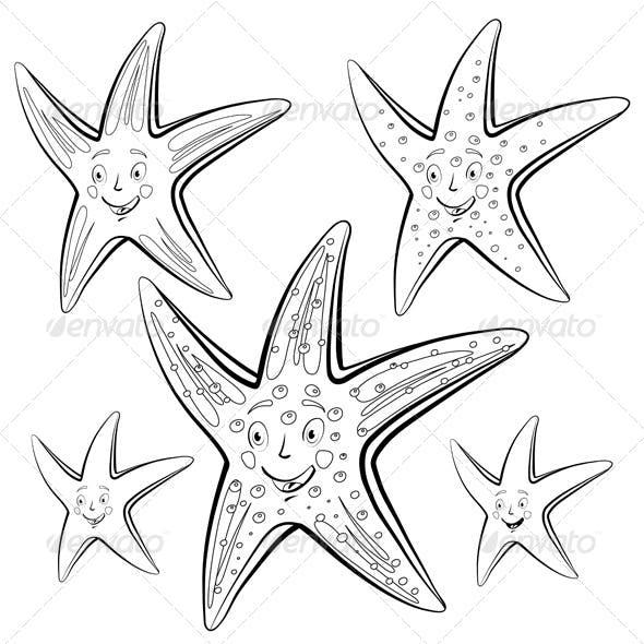 Starfish Cartoon