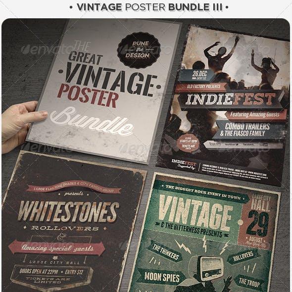 Vintage Poster Bundle III