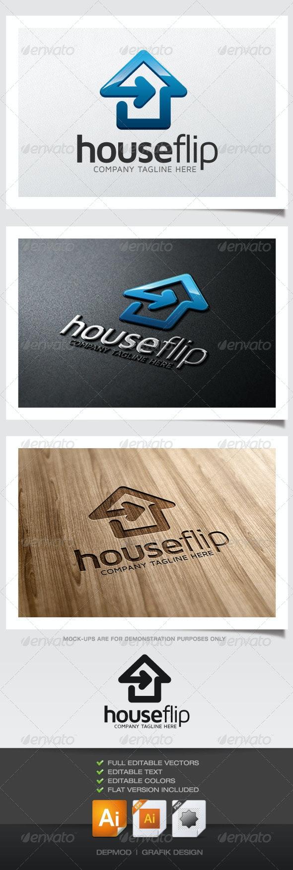 House Flip Logo