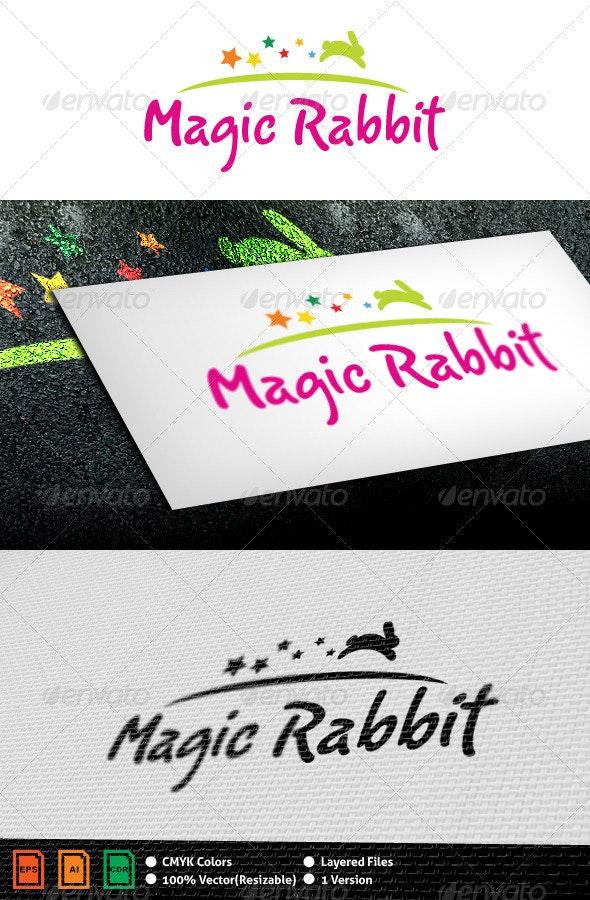 Magic Rabbit Logo Template - Animals Logo Templates