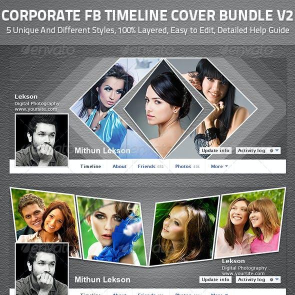Corporate Facebook Timeline Cover V2