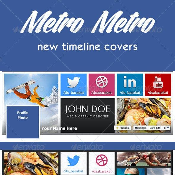 Metro Metro FB Timeline Covers