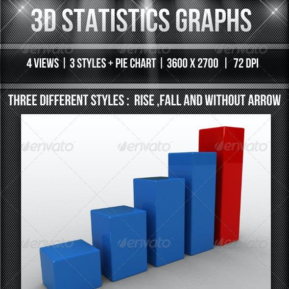 3D Statistics Graphs