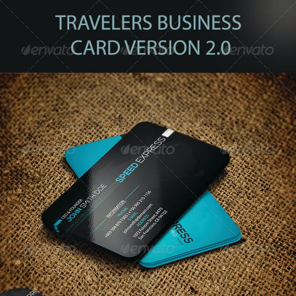 Travelers Business Card Version 2.0