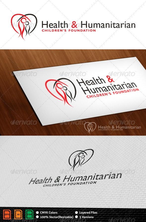 Health & Humanitarian Logo Template - Humans Logo Templates