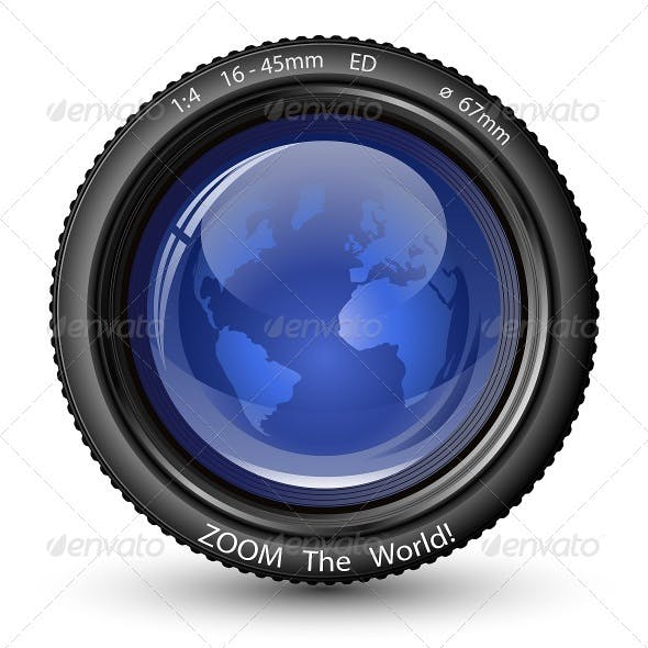 Zoom the World! Vector Camera Lens
