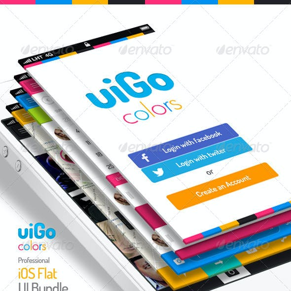 uiGo Colors » iOS Flat UI Bundle