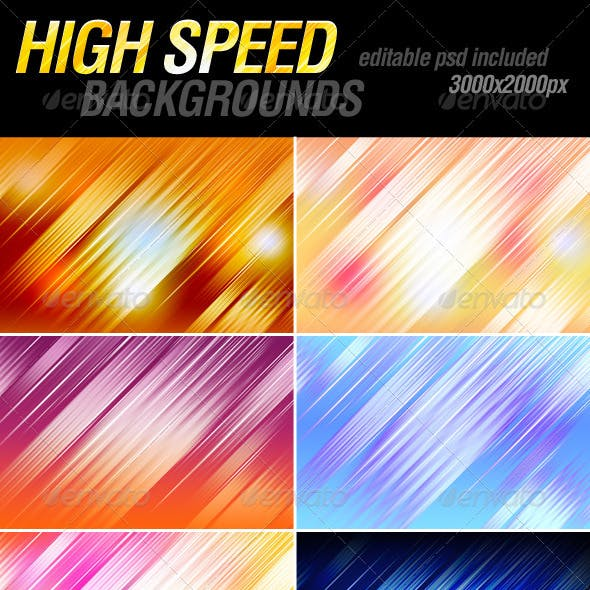High speed backgrounds