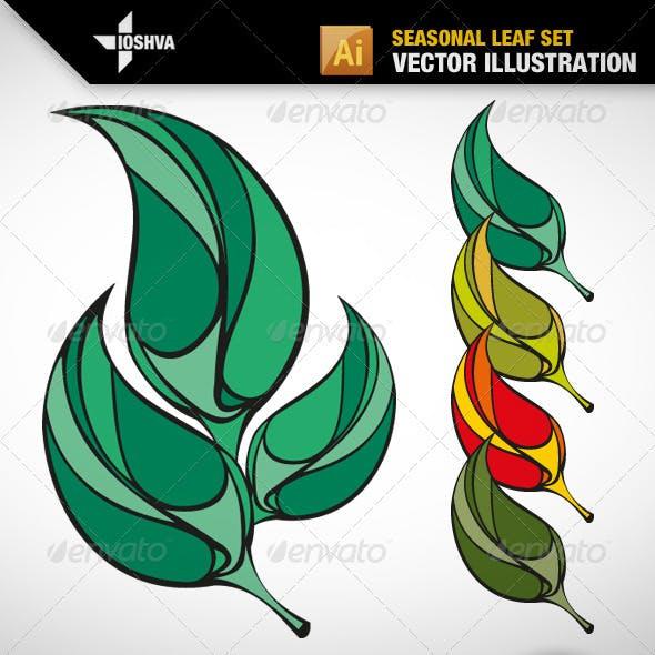 Seasonal Leaf Set