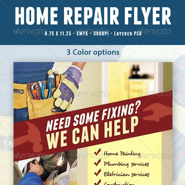 Home Repair Flyer