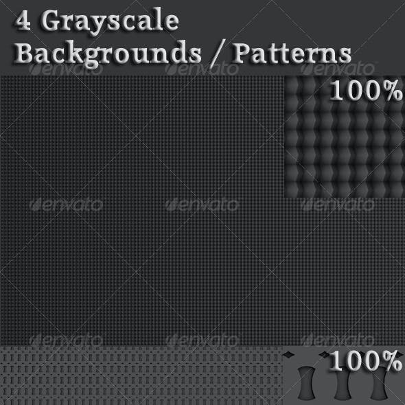 Grayscale Backgrounds / Patterns
