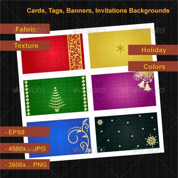 Holiday Cards Backgrounds - Christmas Seasons/Holidays