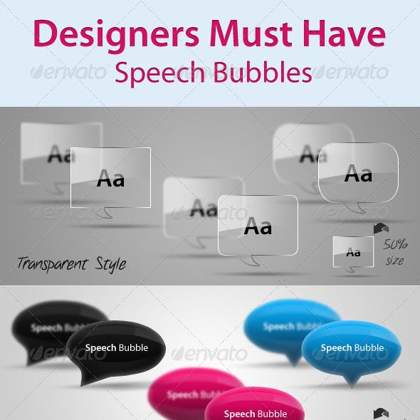 Designers Must Have Speech Bubbles