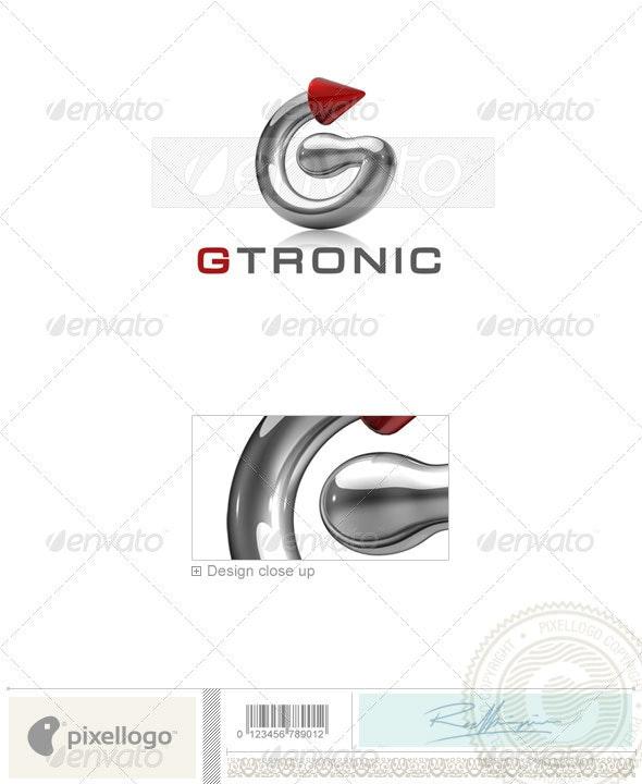 Technology Logo 3D-739 - Letters Logo Templates