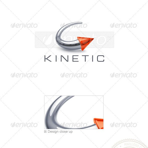 Circular Arrow Logo 3D-753