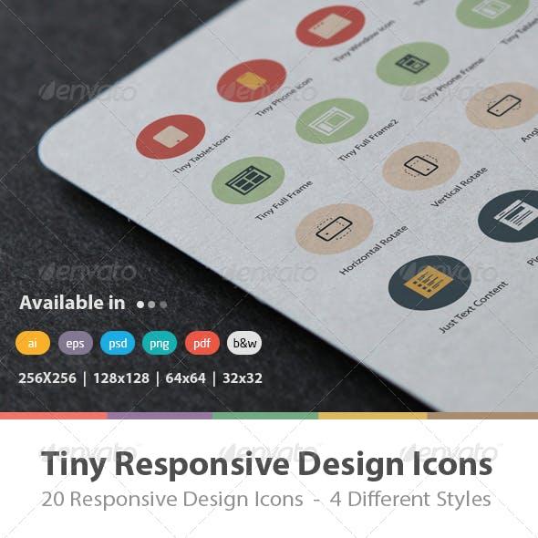 Tiny Responsive Design Icons