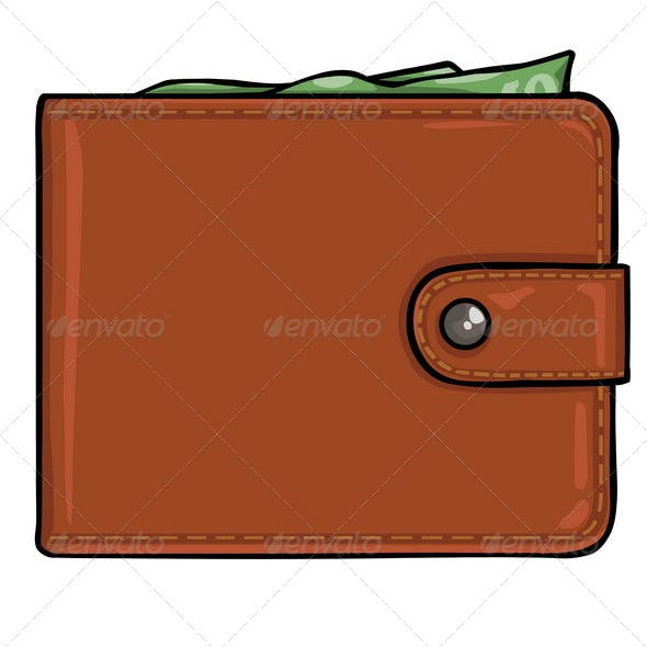 Vector Brown Leather Wallet