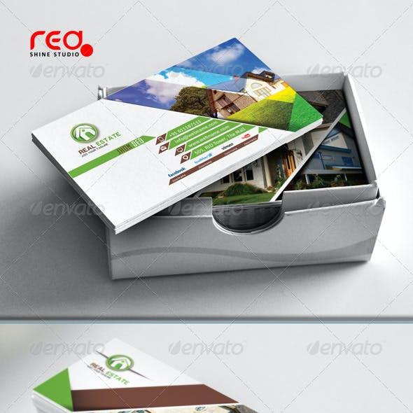 Real Estate Business Card Set