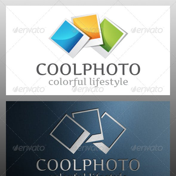 Cool Photography Logo Template