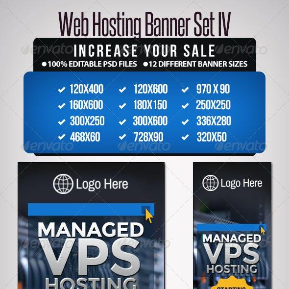 Web Hosting Banner Set IV - 12 sizes