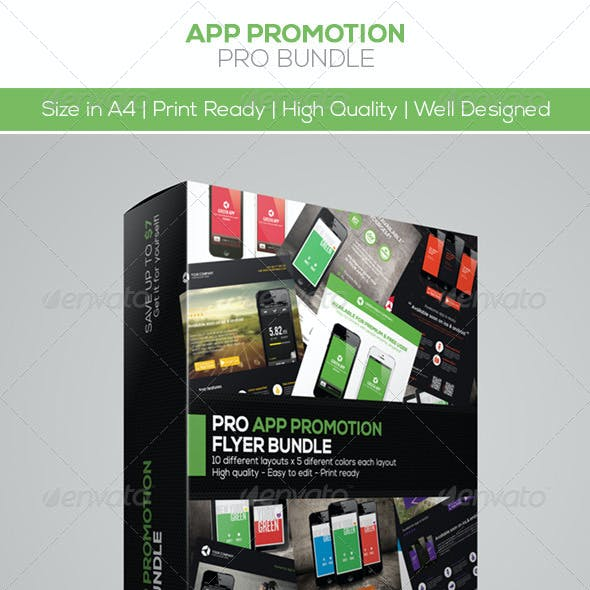 App Promotion Flyers Bundle