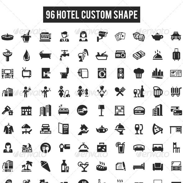 96 Hotel Custom Shape