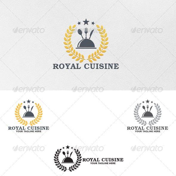 Royal Cuisine - Logo Template