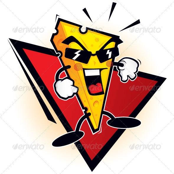 Cheese mascot - Characters Vectors