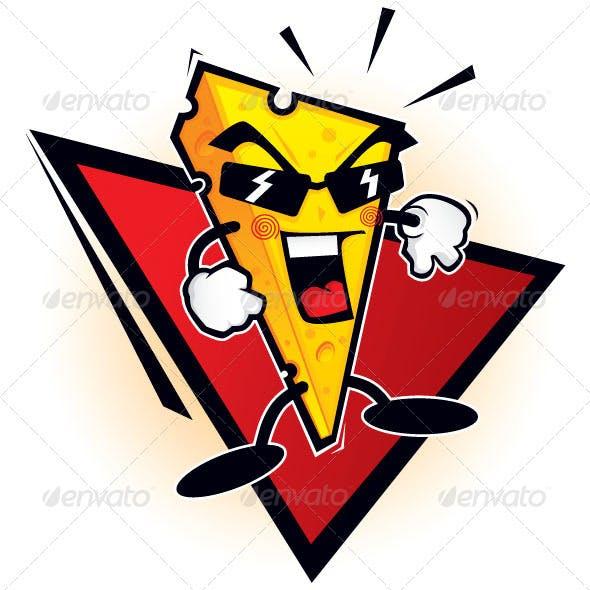 Cheese mascot