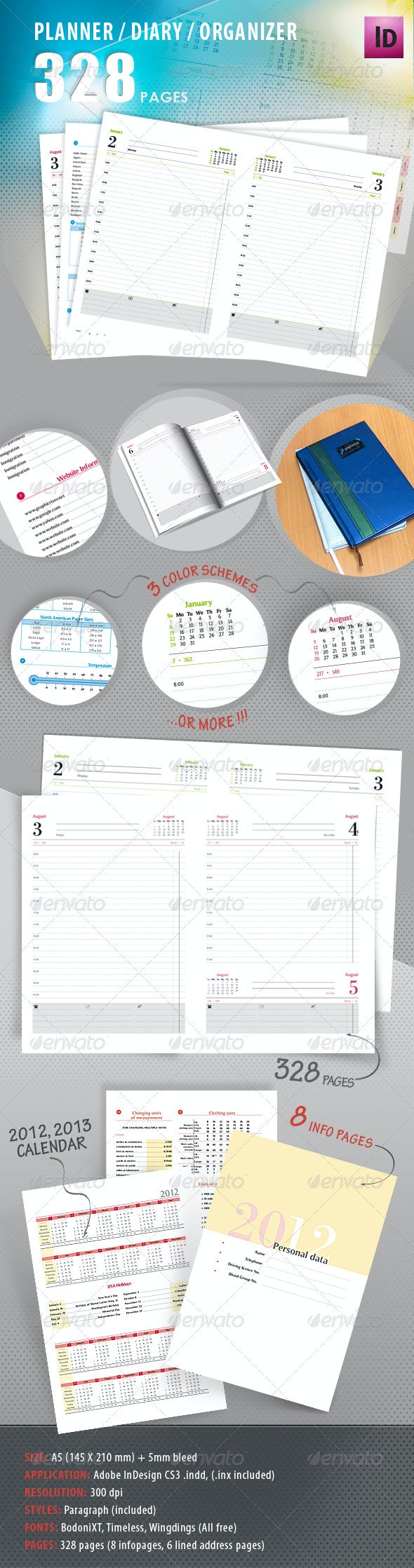 Planner, Diary, Organizer - Calendars Stationery