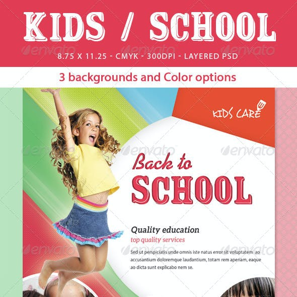 Kids / School Flyer