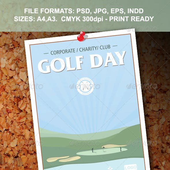 Golf Day Flyer