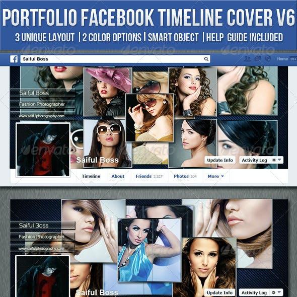 Portfolio Facebook Timeline Cover V6