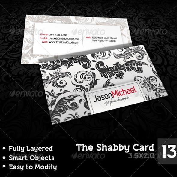 The Shabby Card