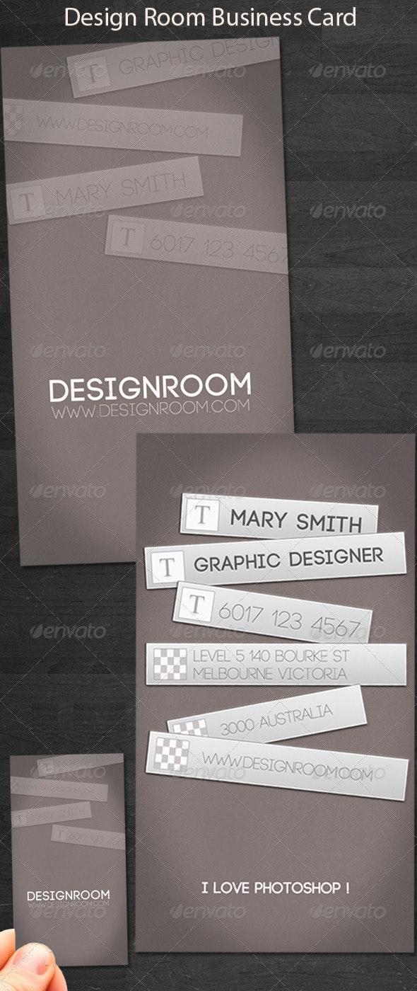 DesignRoom Business Card - Creative Business Cards