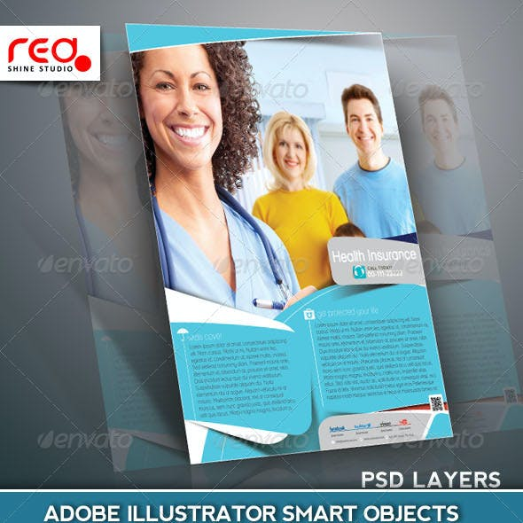 Health Insurance Flyer/Poster Template
