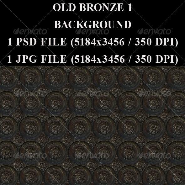 Old Bronze 1 Background - Metal Textures