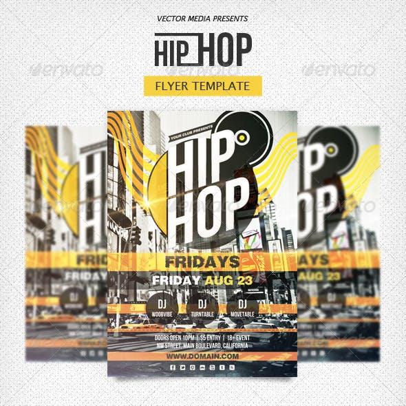 Hip Hop - Flyer