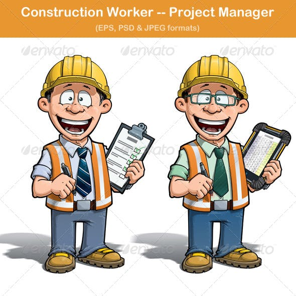 Construction Worker Project Manager