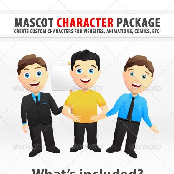 Custom Mascot Character Creation Kit